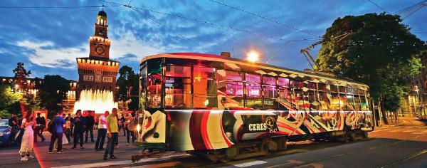 Pellicolatura Tram Milano - Bob Consulting