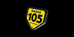 Logo Radio 105 - Bob Consulting - Eventi Tram Milano